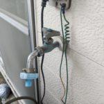 洗濯水栓交換