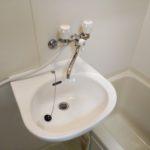 洗面器の交換