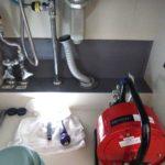 台所排水つまり修理