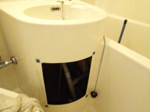 浴室点検口