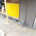 飲食店給水排水配管工事