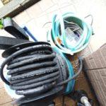 洗濯排水高圧洗浄工事