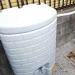 雨水タンク設置工事