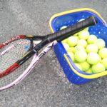テニスをやってきました
