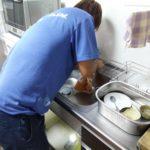 台所水栓水漏れ 交換工事