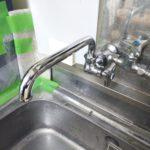台所蛇口水漏れ修理