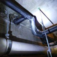 天井水漏れ工事