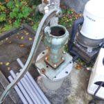 手押し井戸ポンプ修理工事
