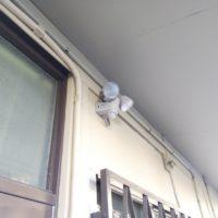 防犯ライト設置工事