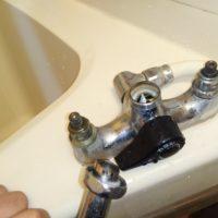 浴室水栓止水上部交換