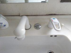 洗面シングルレバーシャワー水栓
