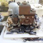家庭用ポンプ水漏れ 交換工事