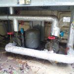 受水槽ポンプ交換