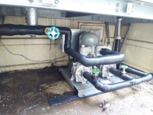 受水槽ポンプ交換 設置工事