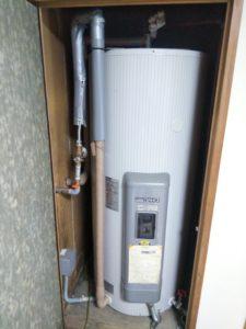 電気温水器 撤去前