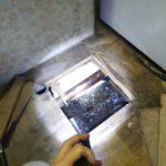床下水漏れ漏水修理工事
