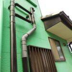 外部排水管水漏れ修理