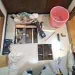 銅管床下水漏れ修理