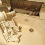 洗面水栓水漏れ開閉バルブ交換