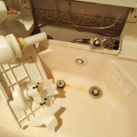 洗髪シャワー水栓