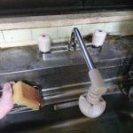 台所2ハンドル水栓水漏れ