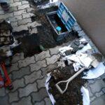 水道メーター地面水漏れ修理